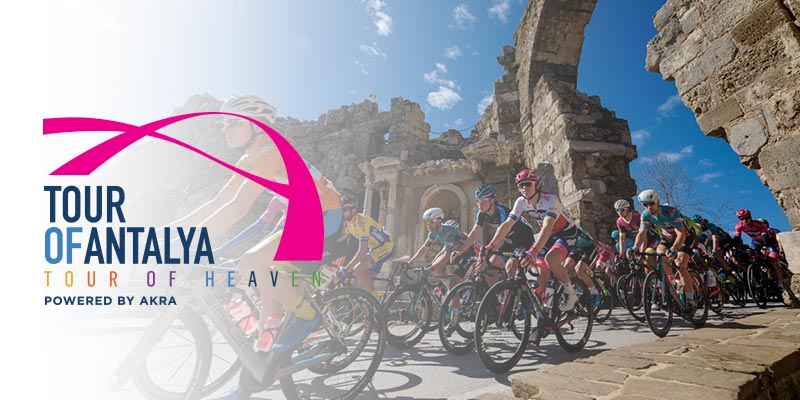 """TOUR OF ANTALYA powered by AKRA"" which is in the UCI Road Cycling Calendar as class 2.1 and consisting of 4 stages will be held in Antalya, Turkey's leading tourism center, between 20-23 February 2020."