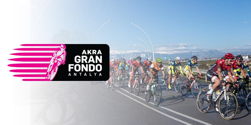 AKRA Gran Fondo Antalya is an amateur road bike race, consisting of two individual routes.